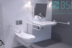 BSD - Łazienka dla niepełnosprawnych