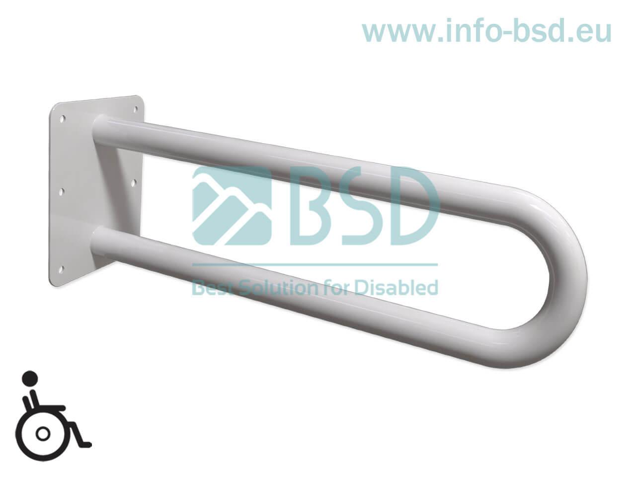 poręcz umywalkowa WC stala dla niepelnosprawnych seria STANDARS UUs fi32 BSD