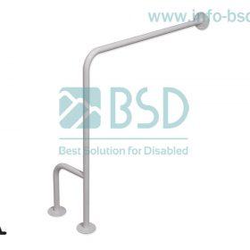 uchwyt dla niepelnosprawnych WC podloga sciana prawy seria simply UWCP B25